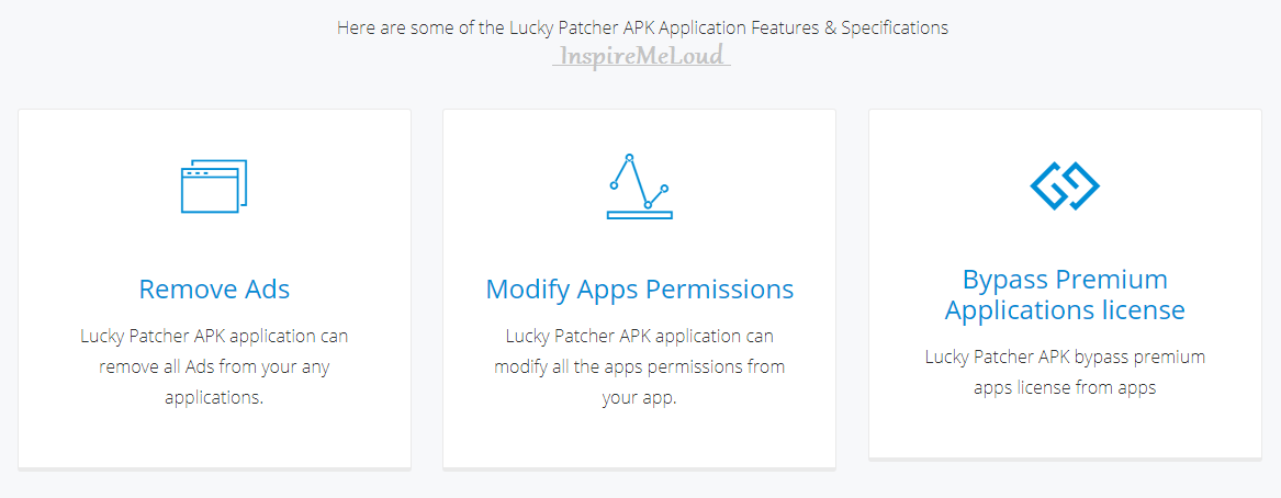 Lucky Patcher APK Features
