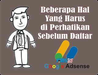 Hal Penting Yang Harus Diperhatikan Sebelum Daftar Google AdSense - yabs69.com