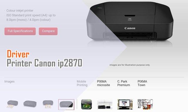 Driver Canon ip2870