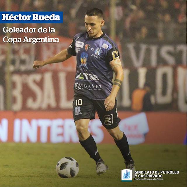 LA COPA ARGENTINA TUVO A UN GOLEADOR REGIONAL