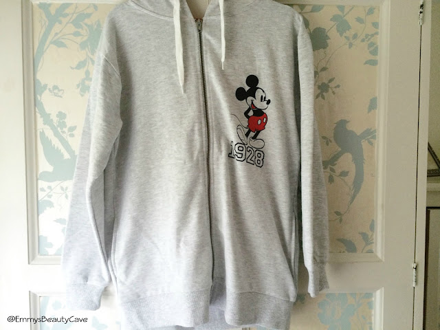 Primark Mickey Mouse Zip up Hoodie