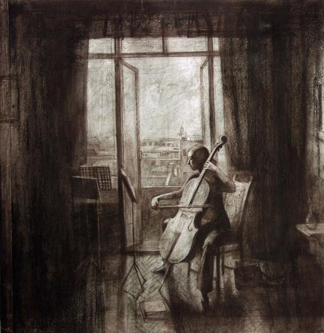Мелодия в живописи. Елена Прудникова 19
