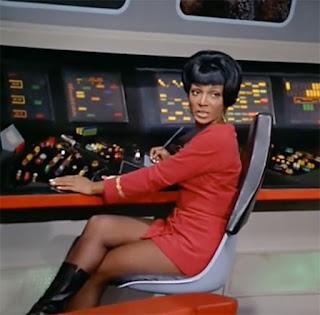 Nichelle Nicholls as Lt Uhura