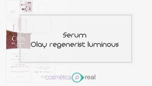 Analisis de composicion de Olay regenerist luminous serum