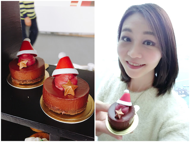 夏沫, cafe100, catherine, christmas, christmashightea, hightea, hkfoodie, hkfoodies, lovecath, sky100,