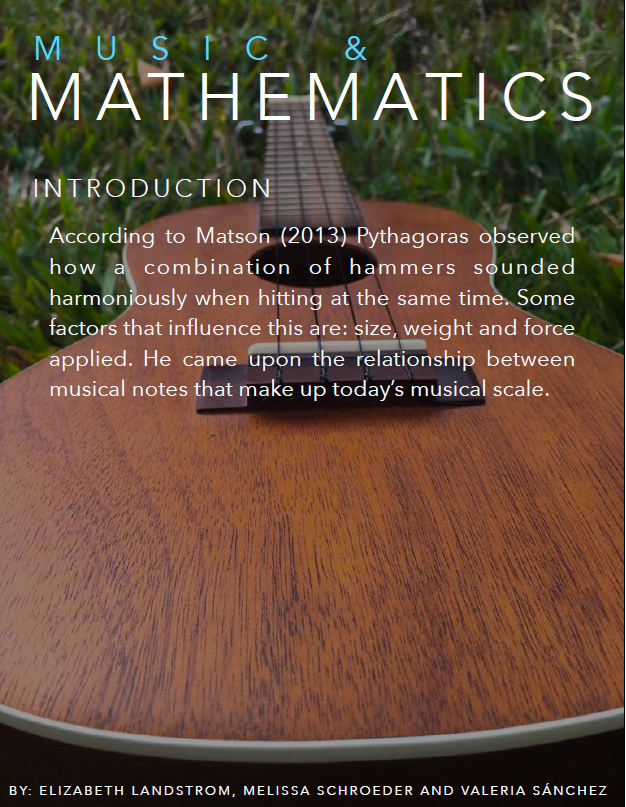 the relationship between math and music Math + arts | fractions in music in this lesson, students explore the relationship between fractions and musical pitch lesson summary.