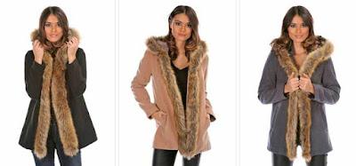abrigos baratos para mujer