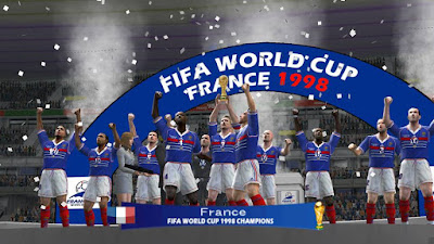 PES 6 Patch FIFA World Cup France 1998