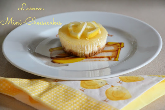Limonlu Mini Cheesecake