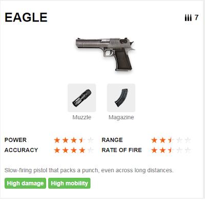 Deskripsi Senjata EAGLE di Free Fire