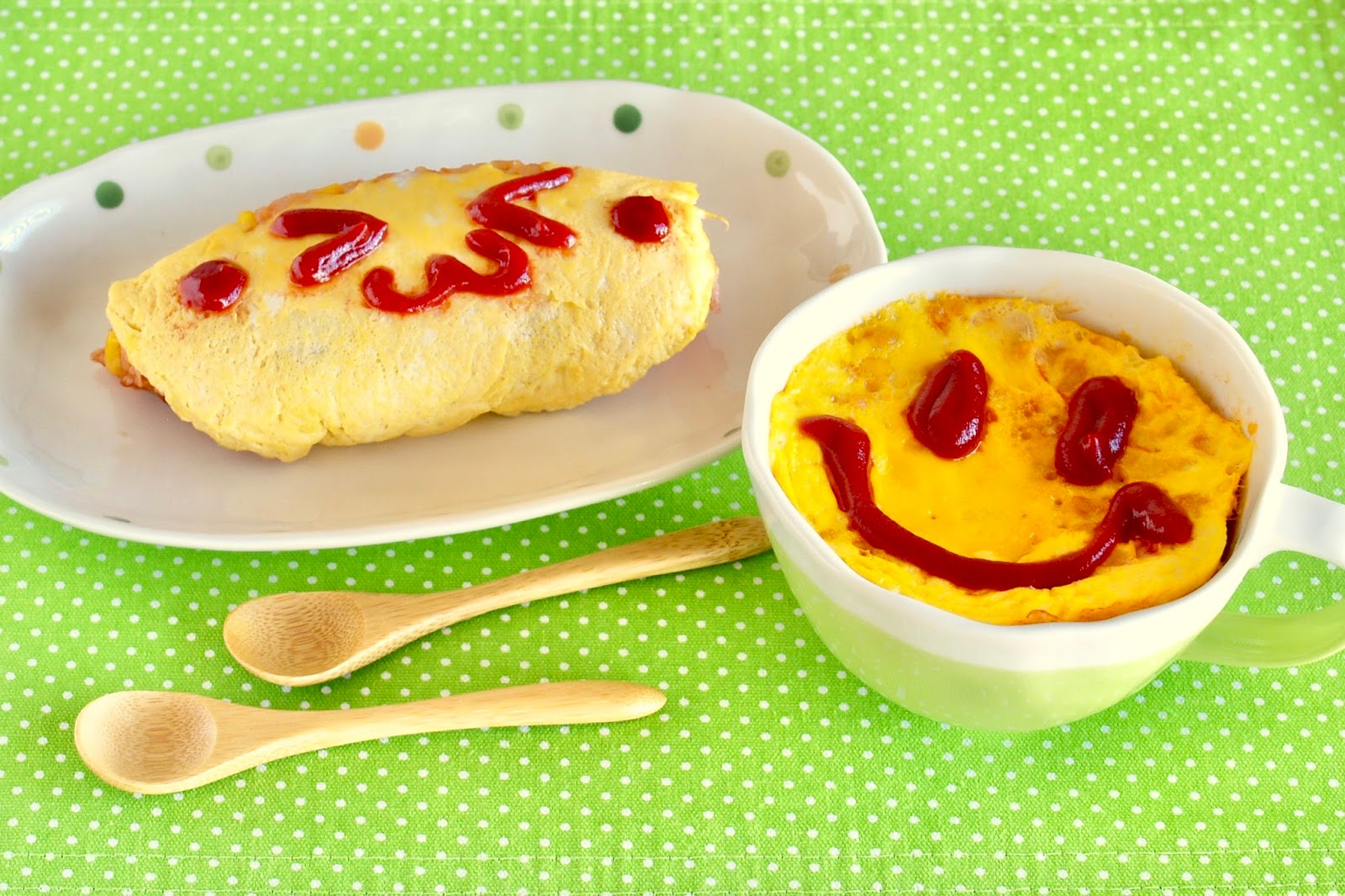 Microwave omurice easy japanese omelet rice in 5 min dorm room microwave omurice forumfinder Choice Image