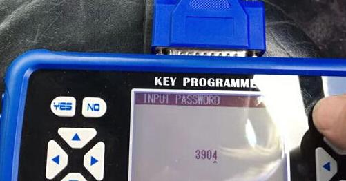 Enter the pin code 3094