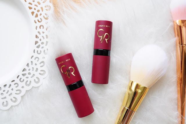 Golden Rose | Velvet Matte Lipstick | 03, 09 | swatche