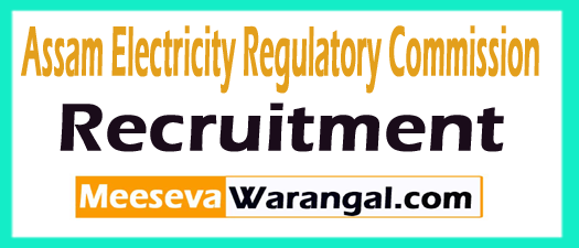 Assam Electricity Regulatory Commission AERC Recruitment