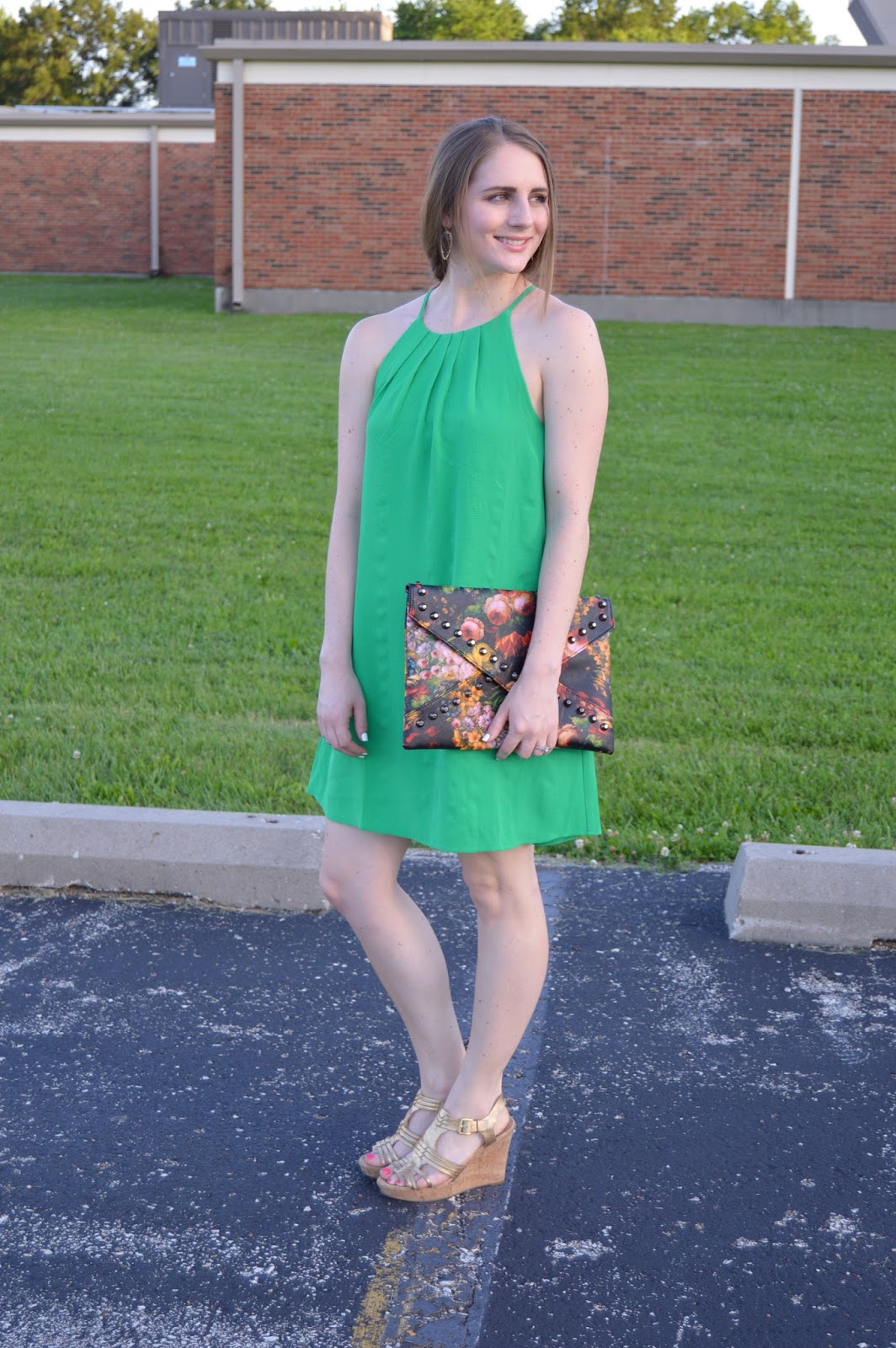 review of the mint julep boutique | summer outfit ideas | what to wear to a wedding | a memory of us | kansas city fashion blog | green dress | what looks cute with a green dress | summer lookbook | summer outfits |