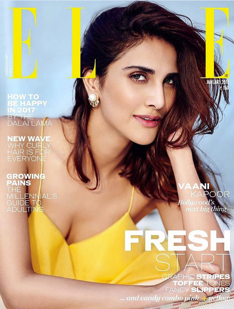 Vaani Kapoor in Elle India Magazine Photoshoot
