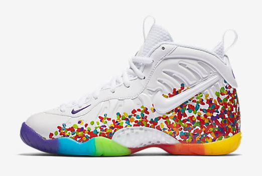 114c6ba4285 THE SNEAKER ADDICT  Nike Foamposite  Fruity Pebbles  GS Available ...