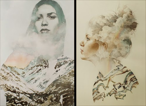 00-Oriol-Angrill-Jordà-Double Exposure-Watercolor-Paintings-www-designstack-co