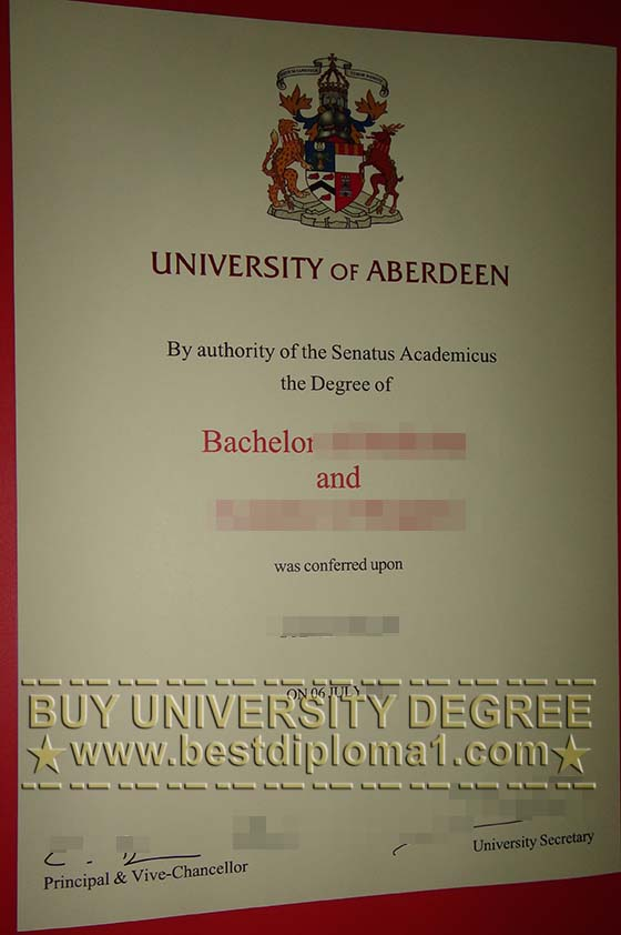 Buy a real AU diploma