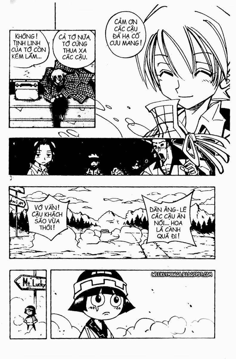 Shaman King [Vua pháp thuật] chap 91 trang 17