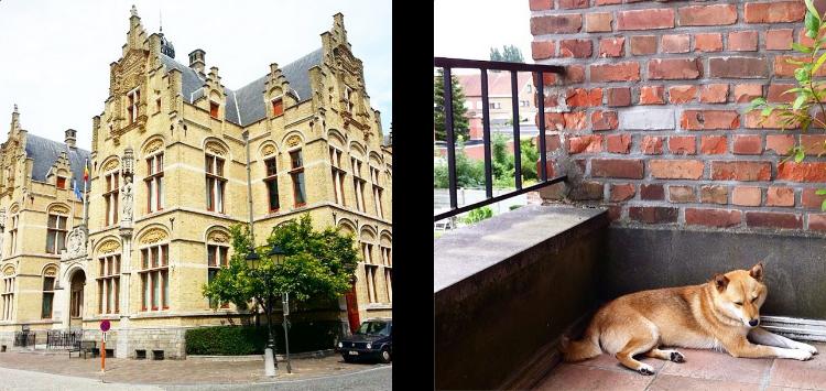 Euriental - fashion & luxury travel, architecture in Ieper (Ypres), Belgium