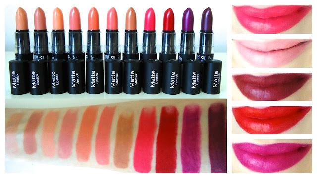Rekomendasi Lipstick Matte NYX Untuk Si Bibir Gelap