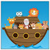 Funny Noah's Ark: Free Printable Editable Mini Kit.