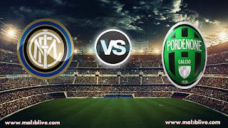 مشاهدة مباراة انتر ميلان وبوردينوني internazionale Vs pordenone بث مباشر بتاريخ 12-12-2017 كأس إيطاليا