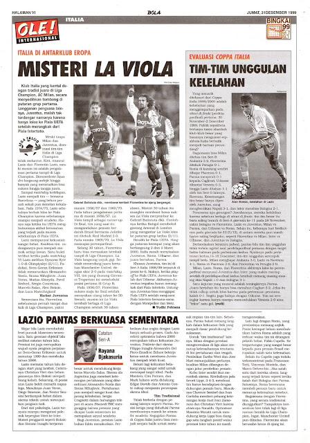 GABRIEL BATISTUTA LA VIOLA FIORENTINA