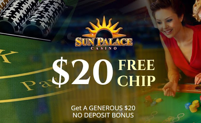sun palace casino bonus codes