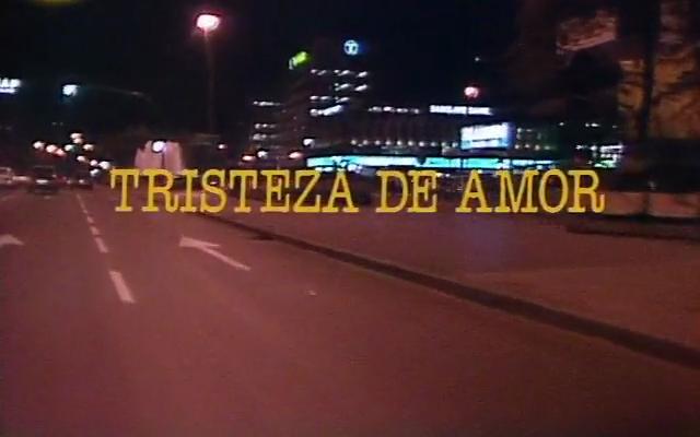 Tristeza De Amor: Reivindicando A Los Pioneros Televisivos: Tristeza De Amor