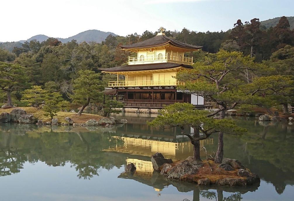 Kinkaku-ji-golden-pavilion-Kyoto-Japan