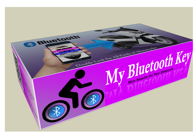 alarm sepeda motor - My bluetooth key