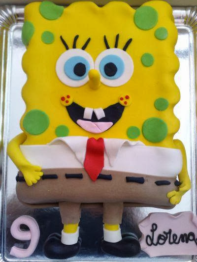 Birthday Cake SpongeBob