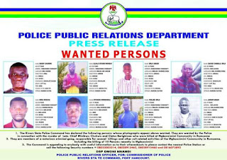 Police arrest gang leader behind massacre in River State community