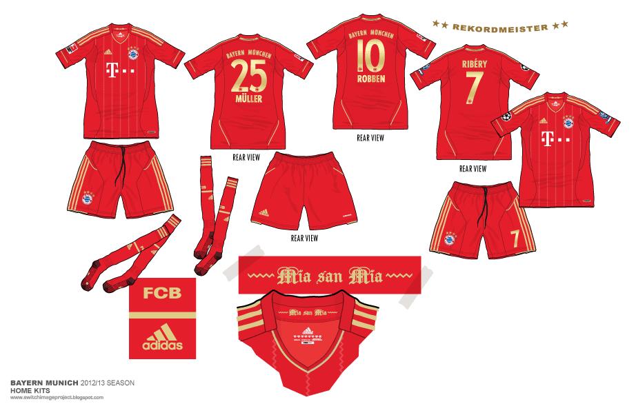 check out dc70e 50883 Football teams shirt and kits fan: Bayern Munich 2012-13 ...