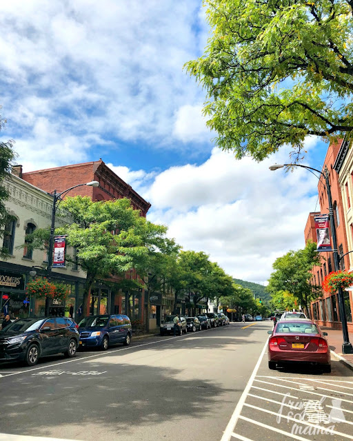 For the best of shopping, dining, & entertainment, the Gaffer District is where it's at in downtown Corning, New York.