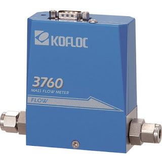 kofloc mass flow meter odel 3760
