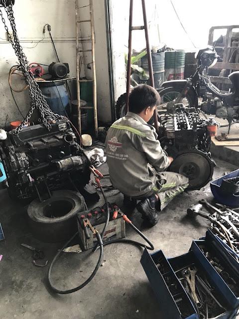 sửa xe nâng tại vũng tàu