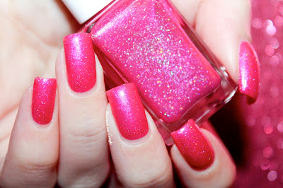 "Swatch of the nail polish ""Princess Parking Only"" from Glam Polish"