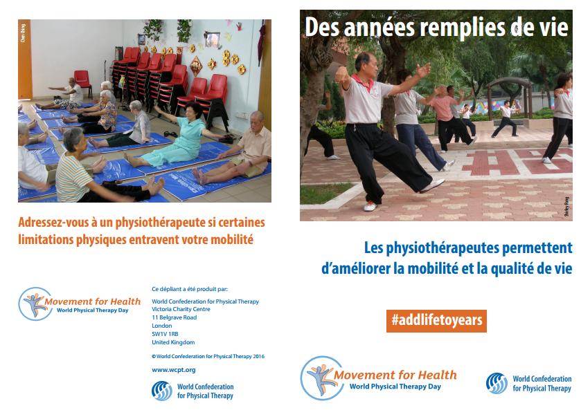 Journée mondiale de la physiothérapie