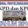 Informasi Lengkap Jadwal Penyelenggaraan KPD dan KPL Tahun 2018
