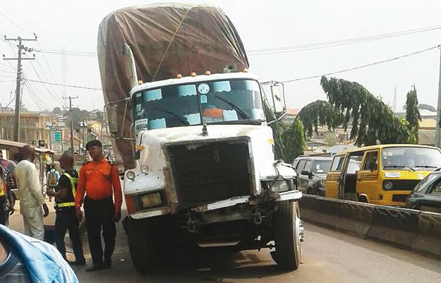 trailer kills yabatech student abule egba