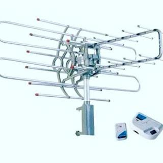 Cara rakit antena tv rotasi