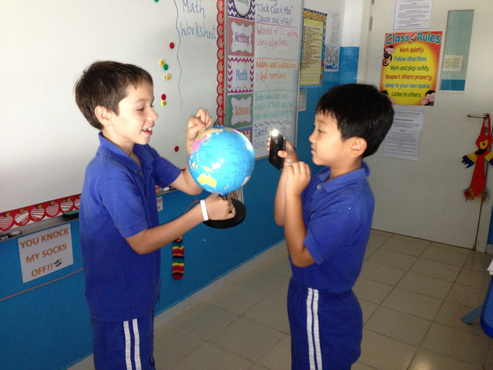 Teaching With Style Learning About What Causes Day And