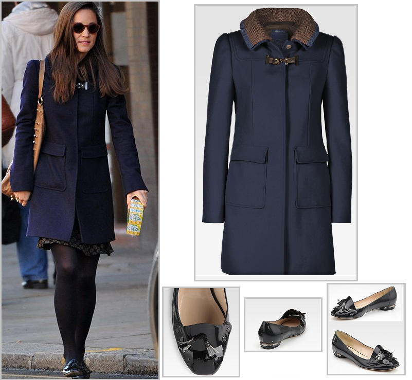 Abrigo: by FAY  Pippa Middleton