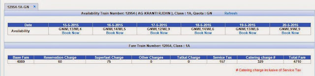 see accommodation and book tickets on irctc