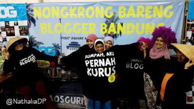 Foto Kocak di Acara Buka Bersama Blogger Bandung dan Kaos Gurita