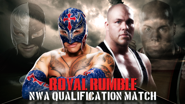 Rey Mysterio Vs Kurt Angle WWE Royal Rumble