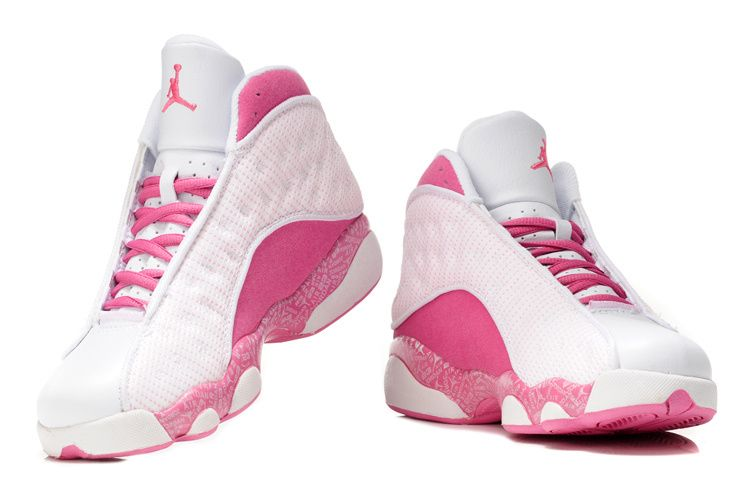 watch wholesale sales super quality white and pink jordans ~ Sneakers
